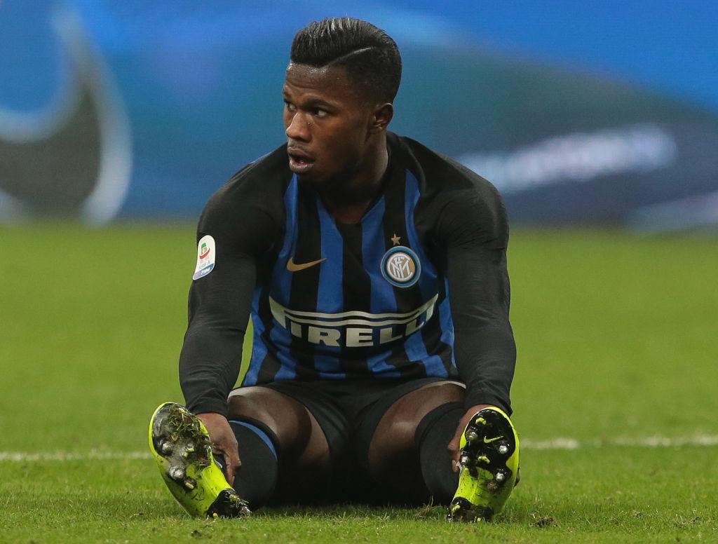 Keita Balde Diao sustains a thigh injury at Inter Milan - ronaldo.com