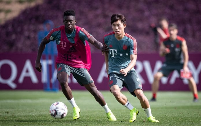 e91daaaff Davies is proud to be at Bayern - Ronaldo.com