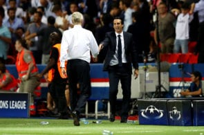 Unai Emery, Arsene Wenger, Arsenal, Premier League,