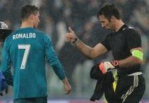 Gianluigi Buffon, Cristiano Ronaldo, Juventus, Real Madrid
