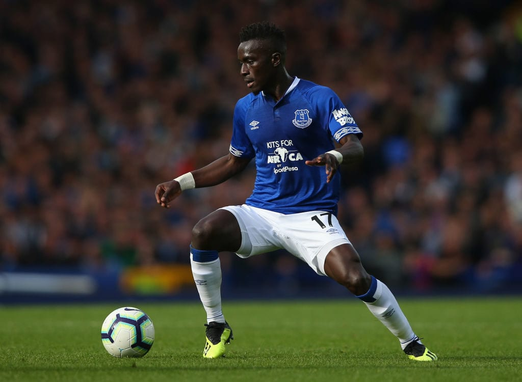 Everton FC v West Ham United - Premier League Idrissa Gueye