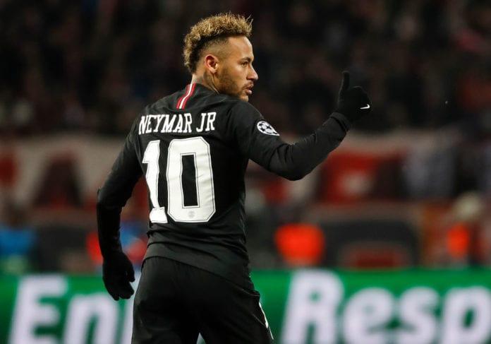 91b8a9447ea7 Neymar hints on a possible return for Champions League quarter-final ...