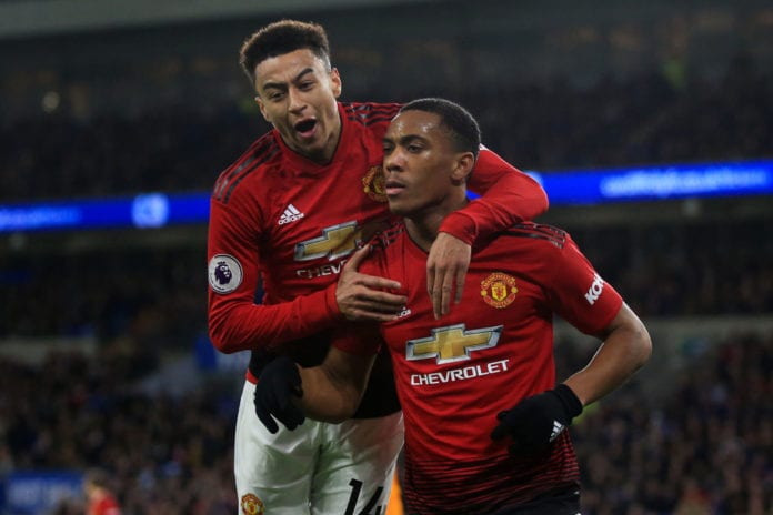 Cardiff City v Manchester United - Premier League Martial Lingard