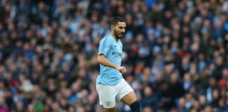 MANCHESTER, ENGLAND - JANUARY 26: Ilkay Gundogan of Manchester City runs with the ball during the FA Cup Fourth Round match between Manchester City and Burnley at Etihad Stadium on January 26, 2019 in Manchester, United Kingdom. (Photo by Alex Livesey/Getty Images)