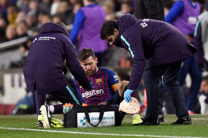 b4a1caed1ab Time to give you the latest on Lionel Messi s injury ahead of next  Wednesday s El Clasico at Camp Nou