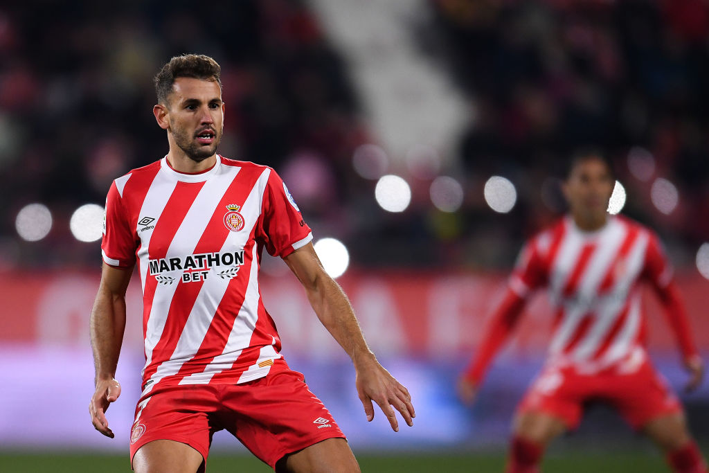 GIRONA, SPAIN - JANUARY 12: Christian Stuani of Girona FC looks on during the La Liga match between Girona FC and Deportivo Alaves at Montilivi Stadium on January 12, 2019 in Girona, Spain. (Photo by David Ramos/Getty Images)