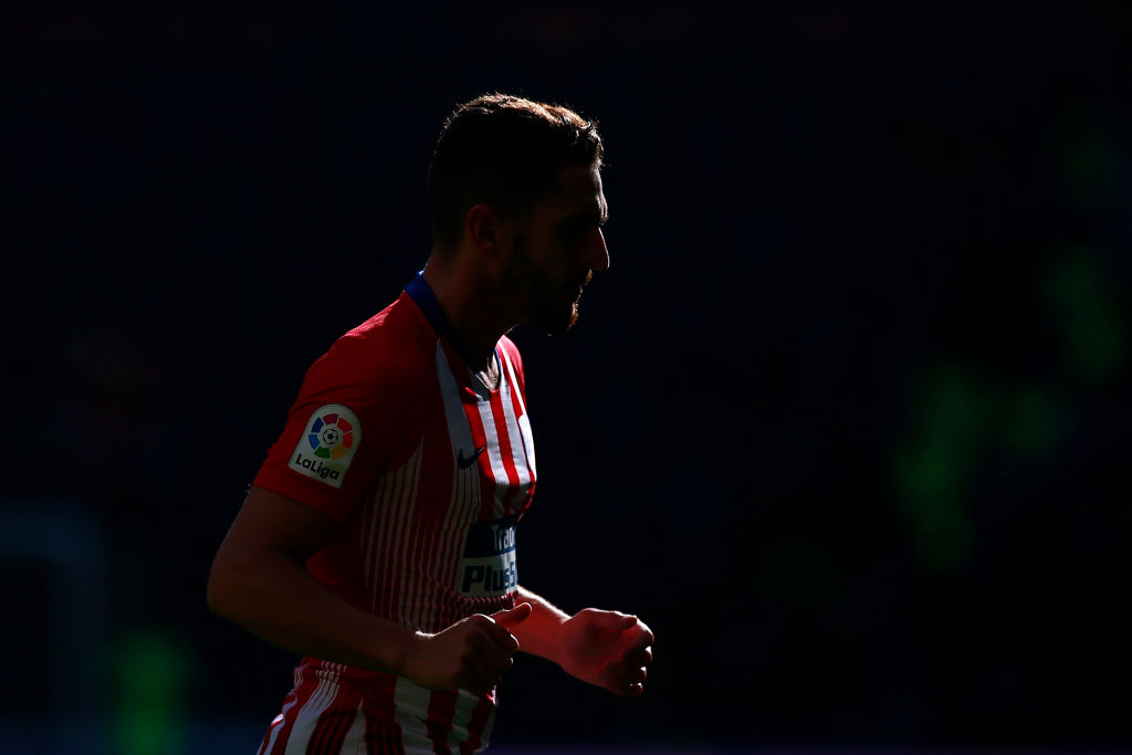 MADRID, SPAIN - JANUARY 13: Koke of Atletico Madrid looks on during the La Liga match between Club Atletico de Madrid and Levante UD at Wanda Metropolitano on January 13, 2019 in Madrid, Spain. (Photo by Gonzalo Arroyo Moreno/Getty Images)