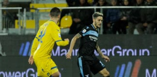 FROSINONE, ITALY - FEBRUARY 04: Luis Alberto of SS lazio during the Serie A match between Frosinone Calcio and SS Lazio at Stadio Benito Stirpe on February 4, 2019 in Frosinone, Italy. (Photo by Marco Rosi/Getty Images)