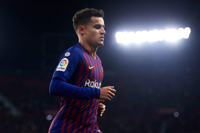 134af3339 Barcelona have opened the door for offers on Brazilian international Philippe  Coutinho – according to reports in Marca.