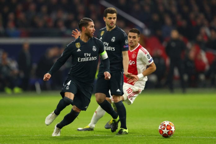 """24cf0d96e3a Real Madrid captain Sergio Ramos admits it s """"no mean feat"""" to manage 600  appearances for the club and gave his thoughts on their 2-1 win over Ajax."""