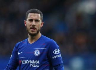 Chelsea FC v Huddersfield Town - Premier League Hazard