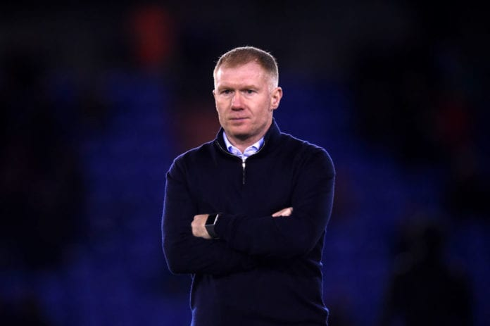 Image result for paul scholes oldham 2019 getty