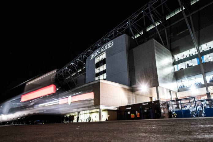 LEEDS, ENGLAND - FEBRUARY 13: General view outside Elland Road prior to the Sky Bet Championship match between Leeds United and Swansea City at Elland Road on February 13, 2019 in Leeds, England. (Photo by George Wood/Getty Images)