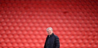 DONCASTER, ENGLAND - FEBRUARY 17: Roy Hodgson, Manager of Crystal Palace looks on prior to the FA Cup Fifth Round match between Doncaster Rovers and Crystal Palace at Keepmoat Stadium on February 17, 2019 in Doncaster, United Kingdom. (Photo by Laurence Griffiths/Getty Images)