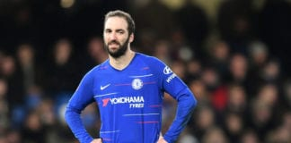 Chelsea v Manchester United - FA Cup Fifth Round Higuain