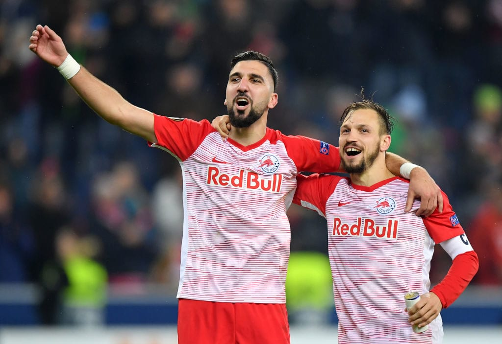FC Salzburg v Club Brugge - UEFA Europa League Round of 32: Second Leg