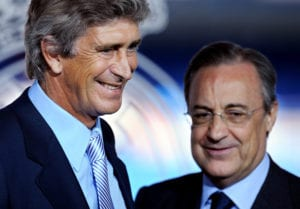 Real Madrid Presents Manuel Pellegrini As New Coach