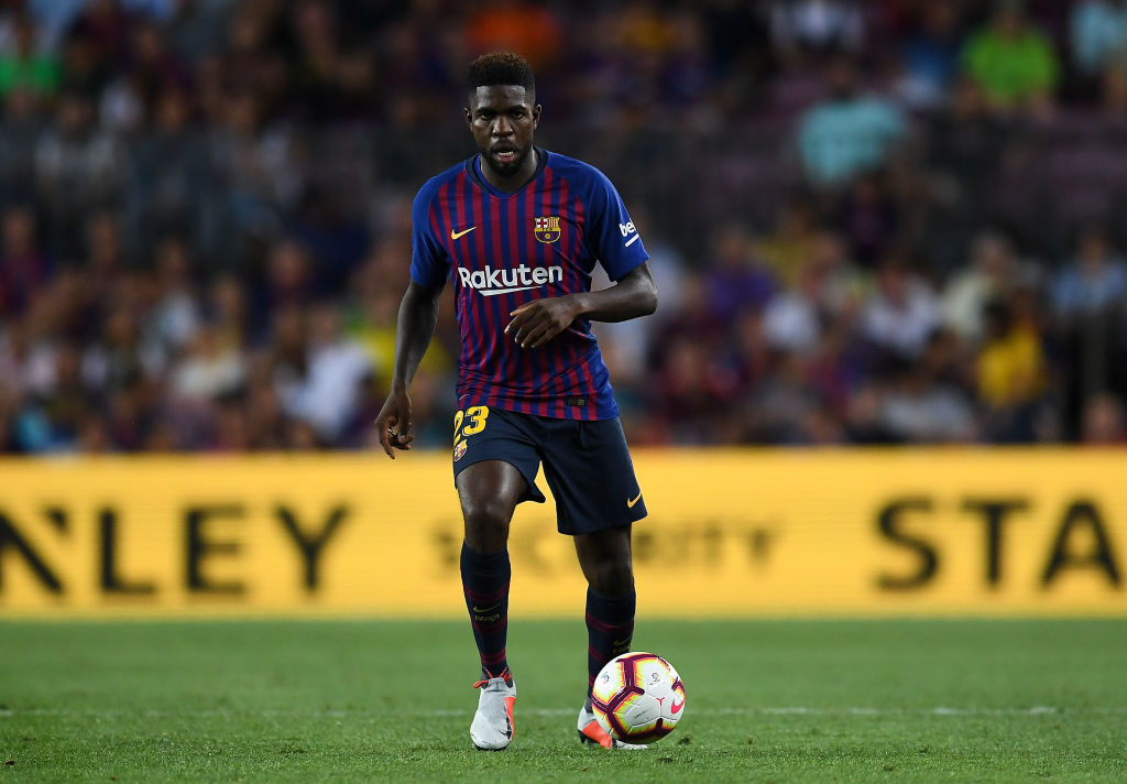 Umtiti is said to be Unai Emery's no 1 target for Arsenal
