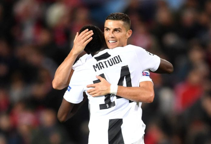 brand new 6473d 3b118 Blaise Matuidi hopes Cristiano Ronaldo's injury is 'nothing ...