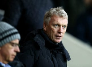 BURNLEY, ENGLAND - DECEMBER 08: David Moyes looks on during the Premier League match between Burnley FC and Brighton & Hove Albion at Turf Moor on December 8, 2018 in Burnley, United Kingdom. (Photo by Jan Kruger/Getty Images)