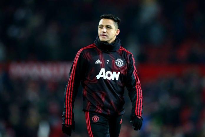Manchester United v Burnley FC - Premier League Alexis Sanchez