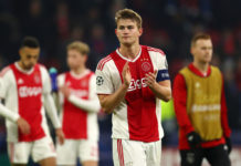 Ajax v Real Madrid - UEFA Champions League Round of 16: First Leg De Ligt
