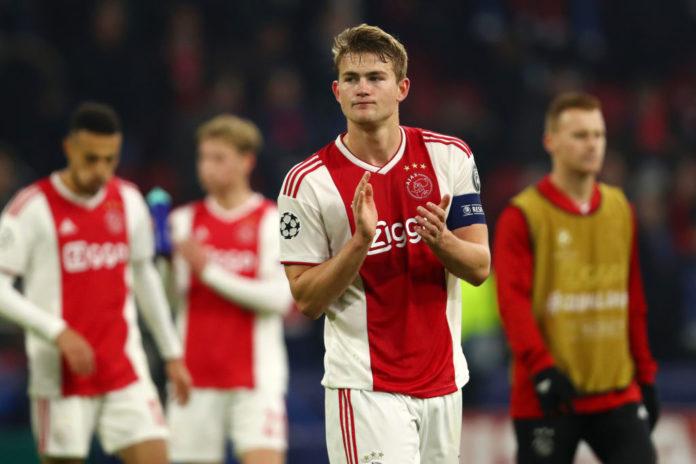 Ajax v Real Madrid - UEFA Champions League Round of 16: First Leg De Ligt
