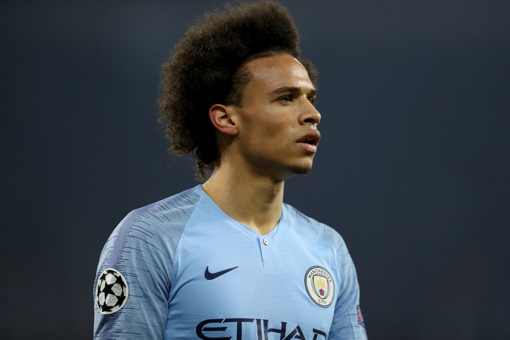 FC Schalke 04 v Manchester City - UEFA Champions League Round of 16: First Leg, Sane