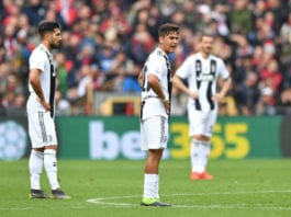 GENOA, ITALY - MARCH 17: Paulo Dybala of Juventus looks dejected during the Serie A match between Genoa CFC and Juventus at Stadio Luigi Ferraris on March 17, 2019 in Genoa, Italy. (Photo by Valerio Pennicino/Getty Images)