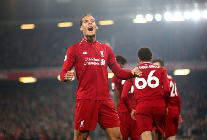 ab842aff3 Virgil van Dijk vowed that Liverpool will give it everything to beat  Manchester City until the end for a deserved Premier League title.