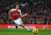 LONDON, ENGLAND - FEBRUARY 27: Matteo Guendouzi of Arsenal during the Premier League match between Arsenal FC and AFC Bournemouth at Emirates Stadium on February 27, 2019 in London, United Kingdom. (Photo by Catherine Ivill/Getty Images)