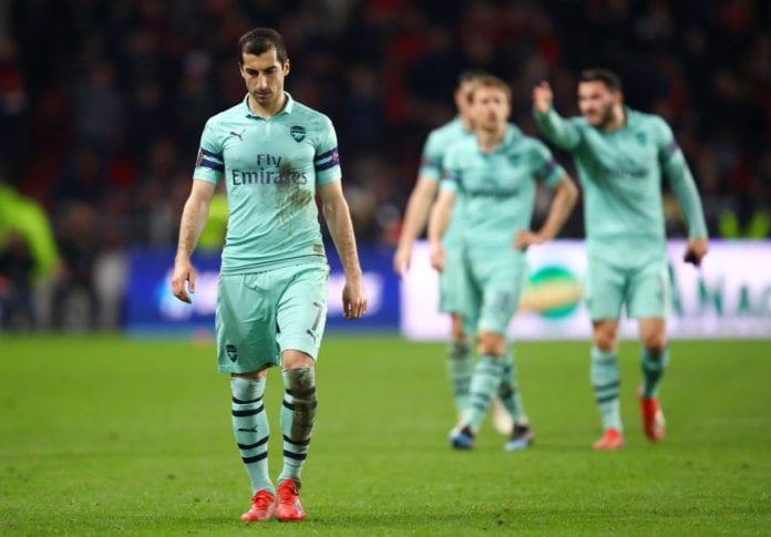 Stade Rennais v Arsenal - UEFA Europa League Round of 16: First Leg