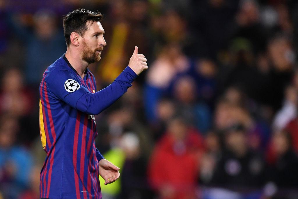 FC Barcelona v Olympique Lyonnais - UEFA Champions League Round of 16: Second Leg