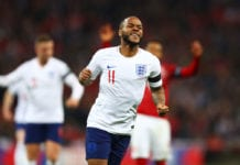England v Czech Republic - UEFA EURO 2020 Qualifier Sterling
