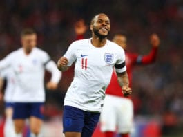 England v Czech Republic - UEFA EURO 2020 Qualifier Sterling