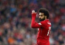 Liverpool FC v Tottenham Hotspur - Premier League Salah