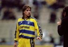 Hernan Crespo of Parma