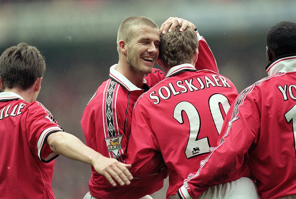 David Beckham, Ole Gunnar Solskjaer