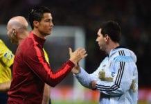 Cristiano Ronaldo, Lionel Messi, Portugal