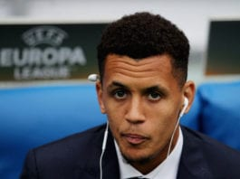 ROME, ITALY - OCTOBER 01: Ravel Morrison of SS Lazio looks on before the UEFA Europa League group G match between SS Lazio and AS Saint-Etienne at Olimpico Stadium on October 1, 2015 in Rome, Italy. (Photo by Paolo Bruno/Getty Images)