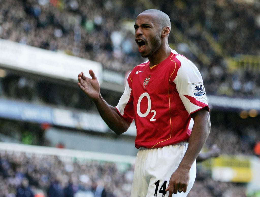Thierry Henry, Ballon d'Or, premier league hall of fame