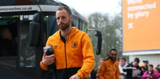 HULL, ENGLAND - MARCH 11: David Meyler of Hull City arrives at the stadium prior to the Premier League match between Hull City and Swansea City at KCOM Stadium on March 11, 2017 in Hull, England. (Photo by Alex Livesey/Getty Images)
