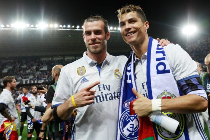 0d0c01346 Gareth Bale reveals all on his relationship with Cristiano Ronaldo ...
