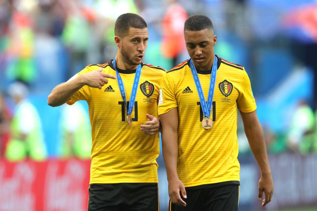Eden Hazard Tips Youri Tielemans To Become A 'major Player