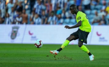 FARO, PORTUGAL - JULY 20: LOSC Lille forward Nicolas Pepe from Ivory Coast during the match between FC Porto v LOSC Lille for Algarve Football Cup 2018 at Estadio do Algarve on July 20, 2018 in Faro, Portugal. (Photo by Carlos Rodrigues/Getty Images)