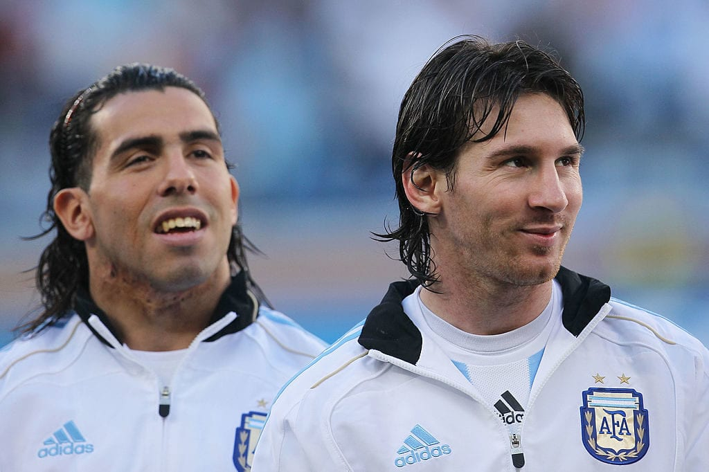 12 players to have played with Ronaldo and Messi