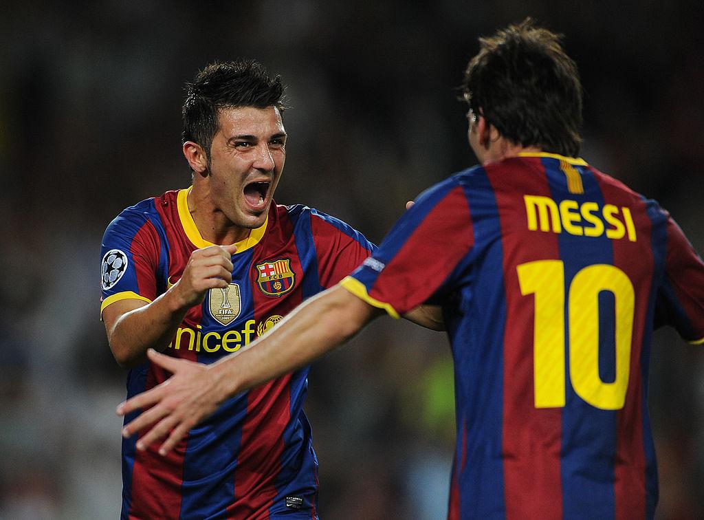 David Villa: Messi is the best of all time - ronaldo.com
