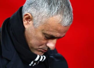 SOUTHAMPTON, ENGLAND - DECEMBER 01: Jose Mourinho, Manager of Manchester United looks on prior to the Premier League match between Southampton FC and Manchester United at St Mary's Stadium on December 1, 2018 in Southampton, United Kingdom. (Photo by Dan Istitene/Getty Images)
