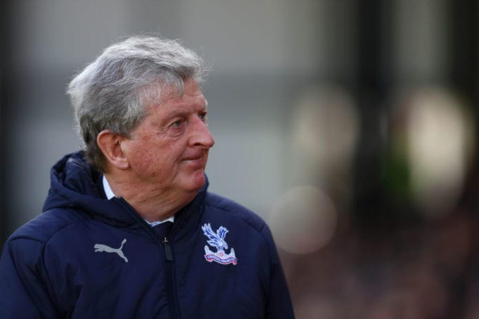 LONDON, ENGLAND - MARCH 09: Roy Hodgson, manager of Crystal Palace looks on before the Premier League match between Crystal Palace and Brighton & Hove Albion at Selhurst Park on March 09, 2019 in London, United Kingdom. (Photo by Dan Istitene/Getty Images)