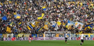 PARMA, ITALY - APRIL 06: A general view during the Serie A match between Parma Calcio and Torino FC at Stadio Ennio Tardini on April 6 , 2019 in Parma, Italy. (Photo by Alessandro Sabattini/Getty Images)